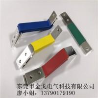 断路器接线导电铜排 镀镍铜排表面套绝缘管