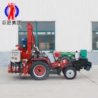 JZ-C农用车载打井机 家用吃水井打井机 深水钻井机