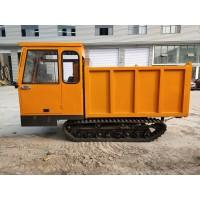 水田运输履带车 小型农用全地形橡胶履带运输车