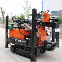 直销履带式气动水井钻机 钻孔快气动水井钻机