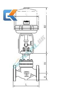 ZRHP电动单座调节阀 (配引进型381执行器)