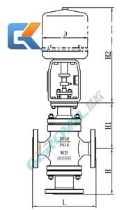 电动三通调节阀 (配引进型381执行器)
