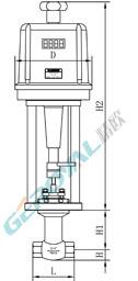 电动小流量调节阀 (配引进型PS执行器)