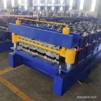 泊头兴和供应840-900双层彩钢压型设备省占地面积