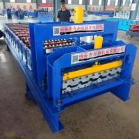 泊头兴和供应800型琉璃瓦压型设备仿古瓦成型设备