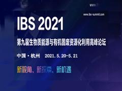 IBS 2021第九届生物质能源与有机固废资源化利用高峰论坛