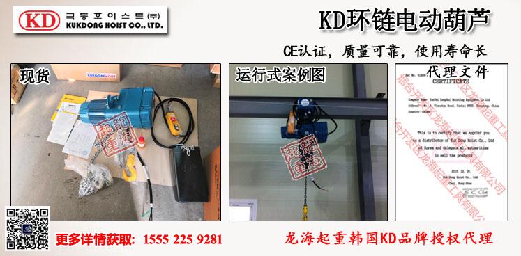 KD环链电动葫芦案例